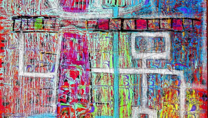 Blick in die Priener Ausstellung mit Werken von Eva Dahn.