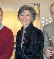 Die drei regional bekannten Künstler Gerhard Franke, Dagmar Gareis und Marinus Wagner sind am 21. April in Kolbermoor zu hören.