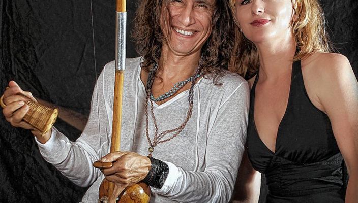 Lisa Wahlandt und Marco Lobo entführen die Besucher musikalisch in den sonnigen Süden.