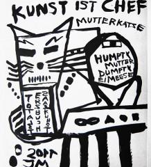 """""""Kunst ist Chef"""" ist bis zum 28. September zu sehen."""