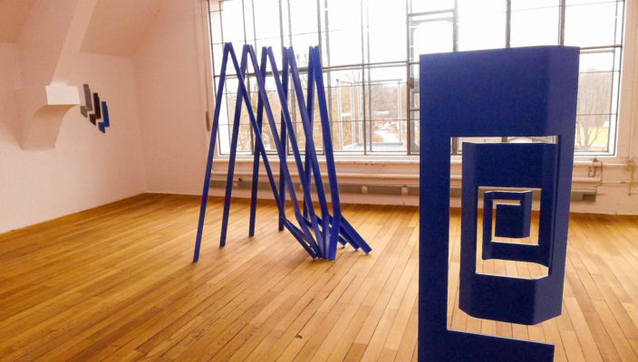 Blick in die Ausstellung beim Kunstverein. Foto: Jacobi