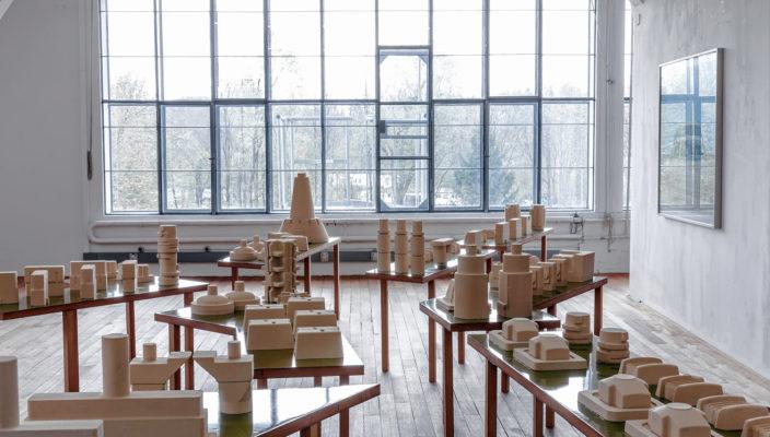 Blick in die Ausstellung beim Kunstverein.
