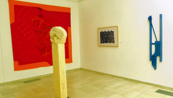 Blick in die Ausstellung des Kunstvereins. Foto: Jacobi