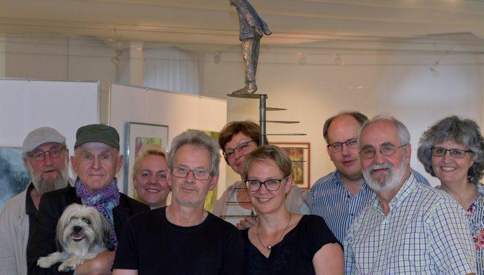 Ritchie Lindl, Rupert Dorrer, Anja Grigull, Willi Zimmer, Uschi Kannopka, Martina Thalmayr, Ralf Bosse, HaJo von Oertzen und Silvana Pasquavaglio (von links).