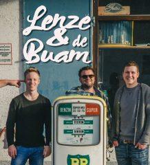 Lenze & de Buam stehen für unbändige Spielfreude und musikalische Leidenschaft. Foto: Sebastian Huber / Hubbi Schlemer