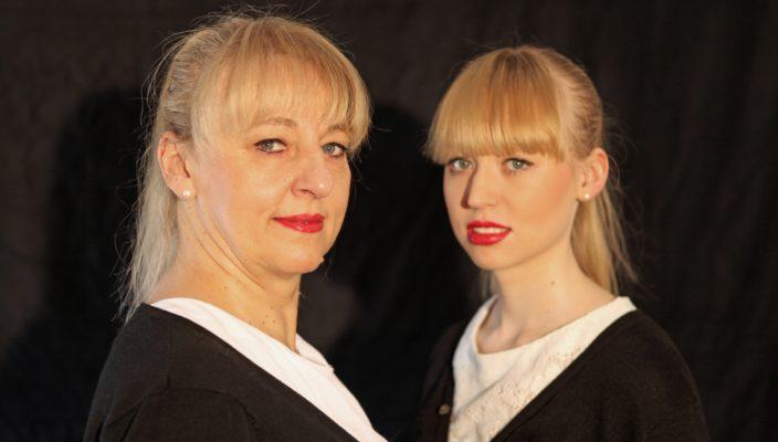Prosa und Pop von Johanna und Veronika Bittenbinder. Foto: Heinz Josef Braun