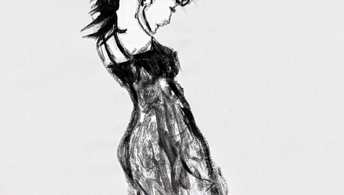 """""""La figure"""", klein, Werk von Katharina Sigl."""