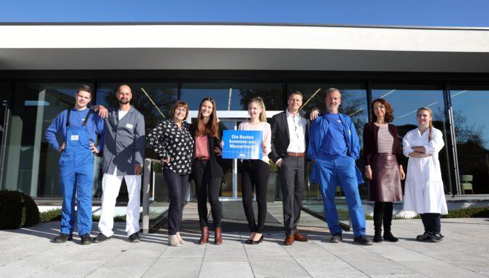 Die Besten kommen aus Wasserburg! Die Molkerei MEGGLE wurde vom Magazin Focus-Business zu einem Top-Arbeitgeber ernannt.