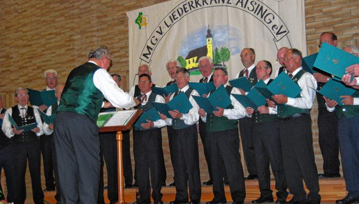 Der Männergesangverein gibt einen musikalischen Vorgeschmack auf den Frühling.