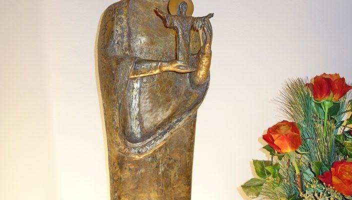 Für viele Patienten und Angehörige sicher ein Zeichen für Liebe und Geborgenheit im Glauben. Foto: hö