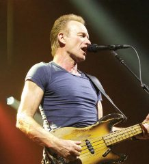 """Superstar Sting rockt noch immer – ob im Pariser """"Olympia"""" oder auf dem Rosenheimer Sommerfestival. Die Karten für seine Konzerte sind über"""