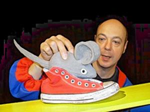 Die Maus im Schuh...