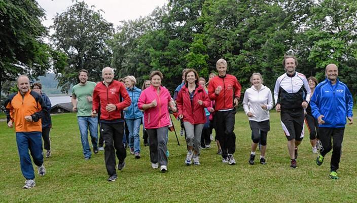 Mitarbeiter in Bewegung... Foto: Ammelburger