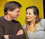 Christian Domnick und Sabine Herrberg: Menelaos und Helena. Foto: fkn