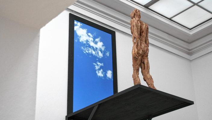 """""""Seitenblick"""" von Bildhauer Andreas Kuhnlein."""