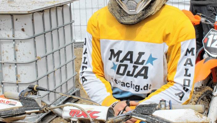 Der Nachwuchsfahrer vom Chiemgau Racing-Team, Wolfgang Brandmaier.