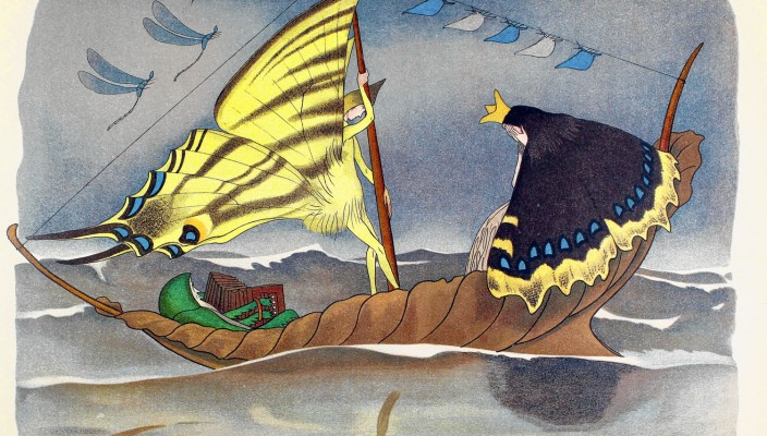 In das Reich der Fanstasie segeln...