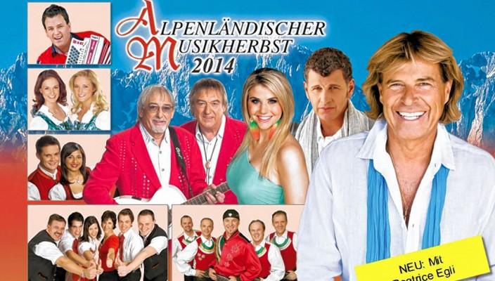 Der Alpenländische Musikherbst holt erneut das Who-is-Who der Schlager- und Volksmusik vor der malerischen Kulisse des Kaiser-Gebirges auf die Bühne.