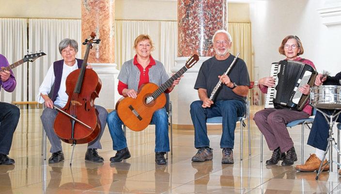Die Freude am gemeinsamen Musizieren hält ein Leben lang.