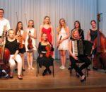 Schülerinnen und Schüler der Talentförderklasse bei ihrem letztjährigen Konzert im Hans-Fischer-Saal.