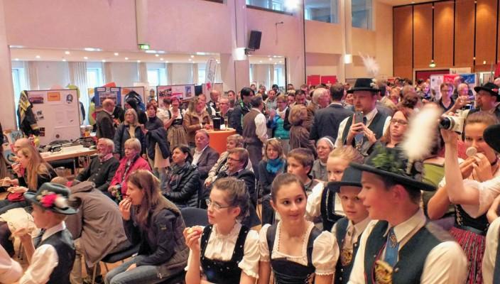 Herzlich willkommen in Kolbermoor! Der Neubürgerempfang war ein voller Erfolg. Fotos: Stadtmarketing