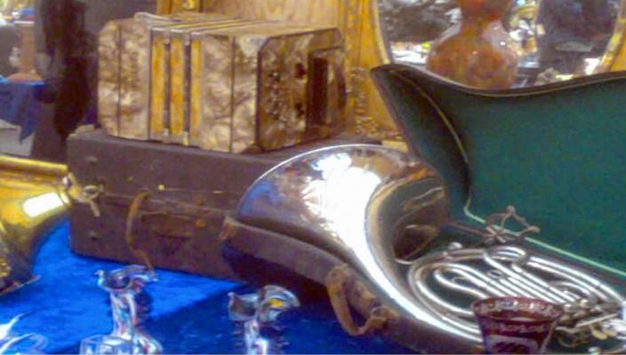 Beim Markt in Wasserburg findet man das eine oder andere besondere Stück...