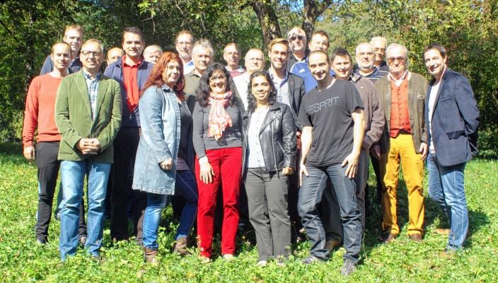 Die Gewerkschaftler diskutierten im verdi-Bildungszentrum Brannenburg.
