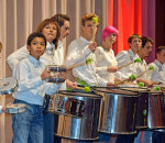 Alle Besucher waren begeistert von den Schülern der Musikschule Rosenheim und ihrer tollen, mitreißenden Musik. Fotos: Trux