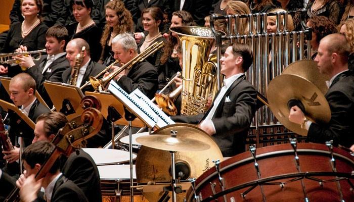 Schwungvoller Start in das neue Jahr mit den K&K Philharmonikern.