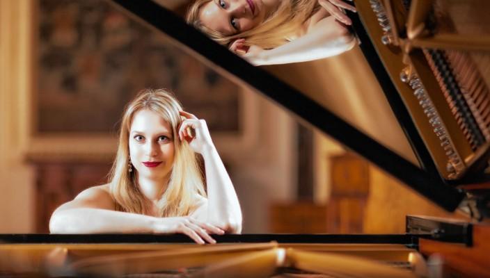 Pianistin Lydia Maria Bader. Foto: Johann Dirschl