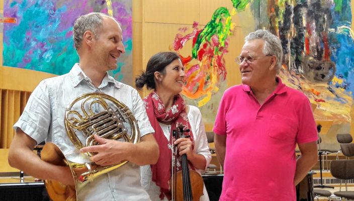 Kleine Besetzung, große Musik: Das Lallinger Trio.