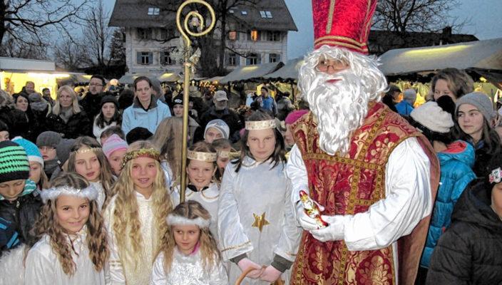 Was wäre die Adventszeit ohne Nikolaus?