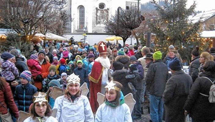 Auch in Oberaudorf wird der Advent mit einem Markt gefeiert.