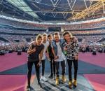 Die Lieblinge ihrer Fans: One Direction bei ihrem ausverkauften Konzert in Mailand.