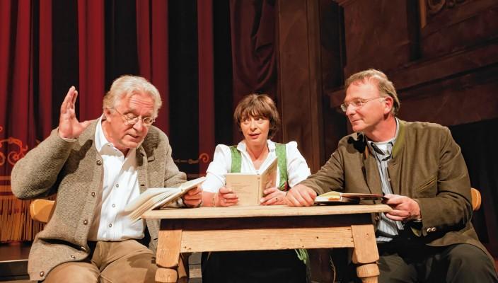 Gerd Anthoff, Conny Glogger und Michael Lerchenberg (rechts) präsentieren dieses kultige Opernerlebnis.