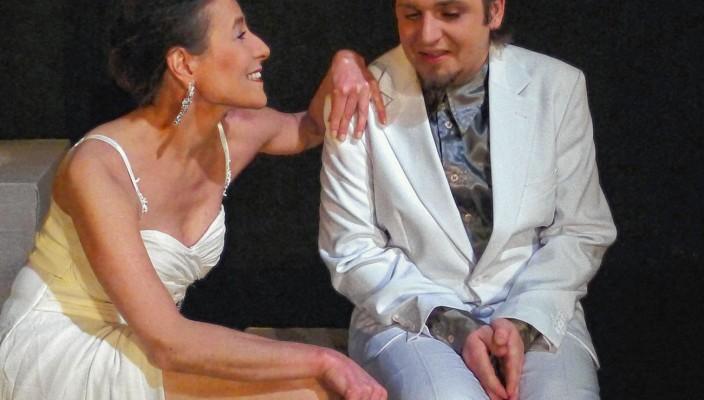Sabine Herrberg und Florian Fuchs. Foto: Jacobi