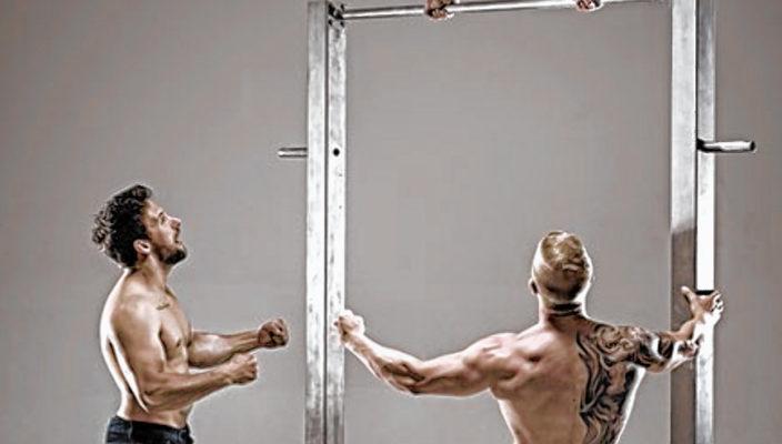 Atemberaubende Akrobatik mit den Beast Brothers.