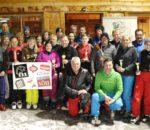 Die glücklichen Gewinner beim Auerbräu VIP-Skicup 2019.