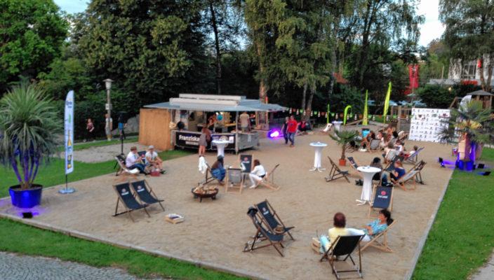 Die Beach Bar startete im letzten Jahr so richtig durch.