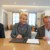 Strahlende Gesichter (von links): Andreas Bauer, Vorstand
