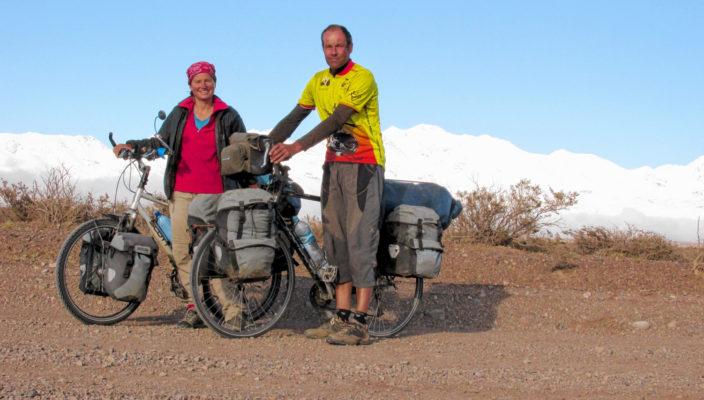 Robert Jahn und Sabine Reiterberger unterwegs.