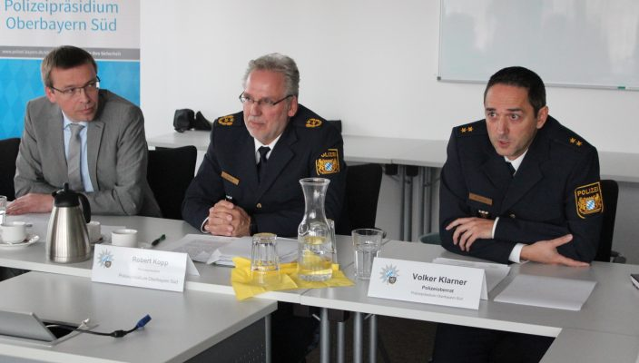 Von links: Gunther Scharbert, Robert Kopp und Volker Klarner. Foto: A. Goike