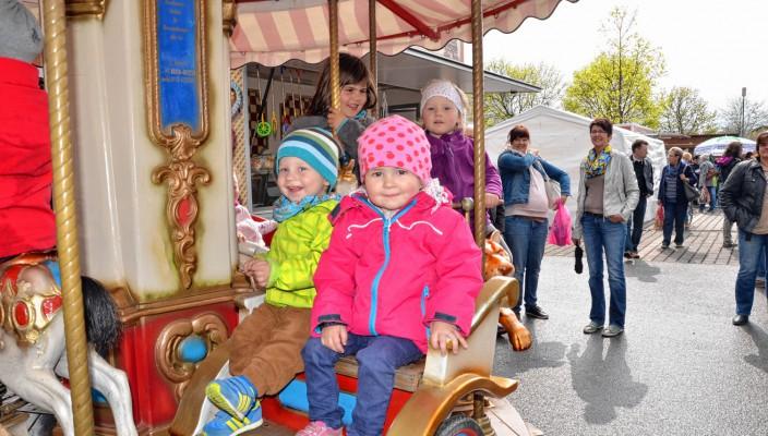 Strahlende Gesichter bei den kleinen Markt-Besuchern sind garantiert! Foto: Ruprecht