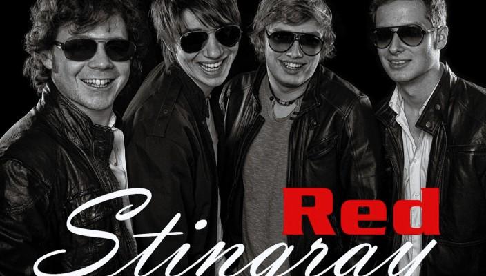 """Heizen so richtig ein – die Band """"Red Stingray""""."""