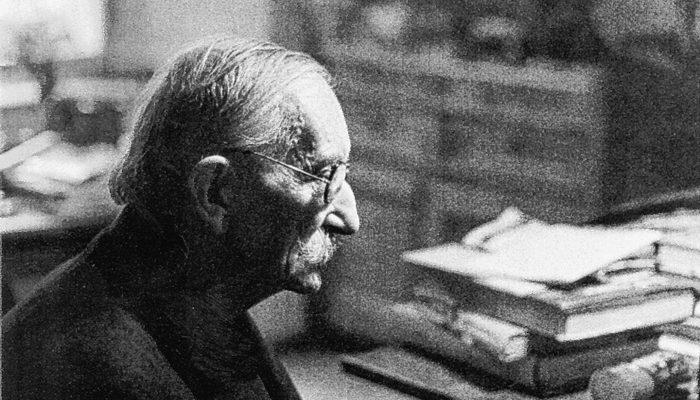 Der tschechische Grafiker, Dichter und Übersetzer Bohuslav Reynek. Foto: re