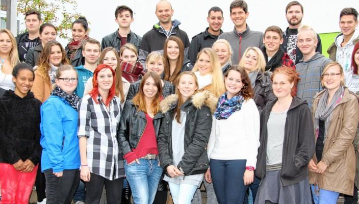 """31 """"ABC-Schützen"""" am Start in ihre neue Ausbildung."""