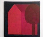 """Rosenheim. Gedanken-Häuser – Haus-Gedanken ist eine Ausstellung mit Bildern des Wasserburger Künstlers Rainer Devens vom 13. März bis 5. April in der """"Kleinen Werkraumgalerie"""" in Rosenheim, Heilig-Geist-Straße 4/I."""