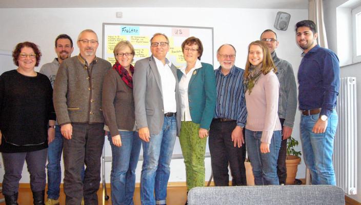 Bei der Klausurtagung der Rosenheimer SPD.