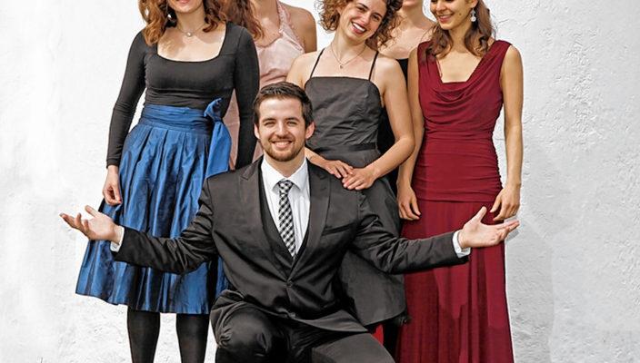 Das junge Ensemble entführt die Zuhörer in die 1920er- und 1930er-Jahre.