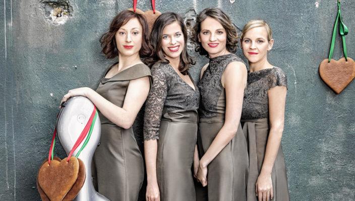Solistisch virtuos arrangiert Salut Salon in ihren Programmen klassische Musik, Tango Nuevo, Folk, Filmmusik sowie eigene Chansons ganz neu.